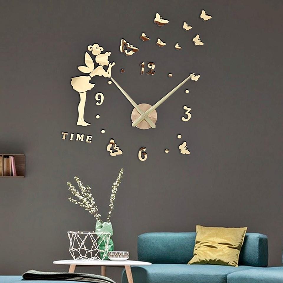 reloj de pared adhesivo reloj para pegar en la pared