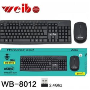 TECLADO MOUSE COMBO BT  WEIBO WB-8012 GRANDE