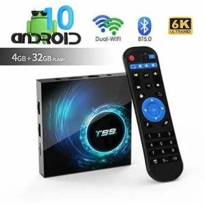 TV BOX 4GB RAM 32ROM CONVERTIDOR DE TV EN UN SMART T99
