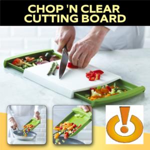 BANDEJA GABETAS Chop N Clear – Cutting Board