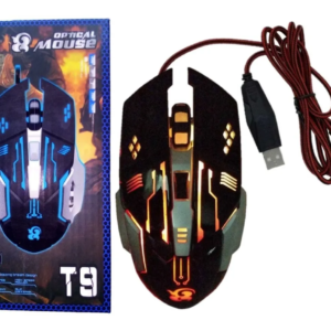 MOUSE GAMER OPTICAL C25 T9