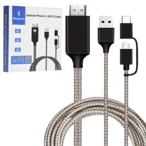 CABLE HDMI USB PARA SMARTHPHONE  PLUG AND PLAY
