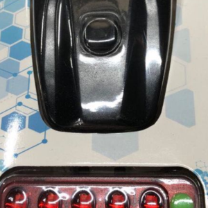 LINTERNA COMBO LED RECARGABLE TRASERA Y DELANTERA QX T0505